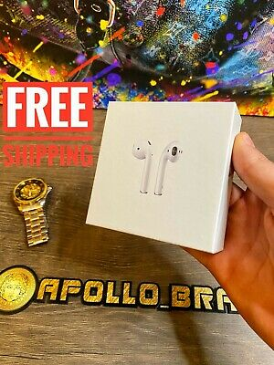 $ CDN50.96 • Buy Apple AirPods 2nd Generation With Wireless Charging Case White NEW IN BOX ⭐⭐⭐⭐⭐