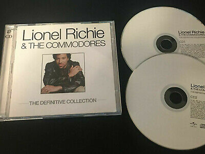 Lionel Richie & The Commodores Definitive Collection Cd Greatest Hits Best Of • 2.99£