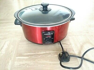 Morphy Richards Red 48702 3.5L Slow Cooker • 2.60£