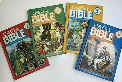 £12.06 • Buy Vintage The Childrens' Bible (Golden Books, Volumes 1-4) 1981