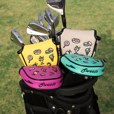 £15.35 • Buy Mallet Putter Cover Magnetic Golf Putter Head Cover For Odyssey TaylorMade New