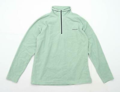 Craghoppers Womens Size 12 Fleece Green Jacket • 10£