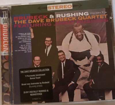 The Dave Brubeck Quartet Featuring Jimmy Rushing - Brubeck & Rushing Cd • 1.50£