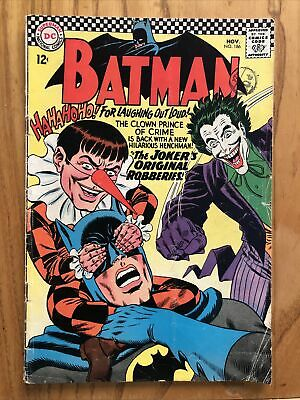 Batman #186 1966 12 Cent Copy | Classic Joker Cover • 15£