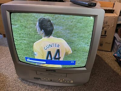 """20"""" Goodmans TV VHS Combo - Great For Retro Gamers - Vintage - TVC202TS • 40£"""