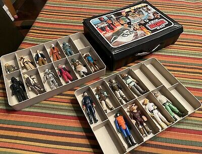 $ CDN86.94 • Buy Vintage 1980 Kenner STAR WARS The Empire Strikes Case W/ 19 Action Figure LOT