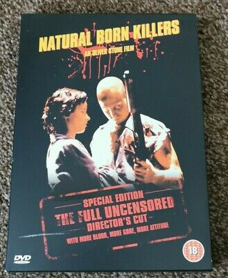 Natural Born Killers: Director's Cut DVD (2003) Woody Harrelson, Stone (DIR) • 3£
