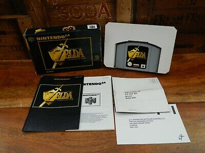 The Legend Of Zelda Ocarina Of Time Nintendo 64 Boxed With Manual N64 • 54.95£