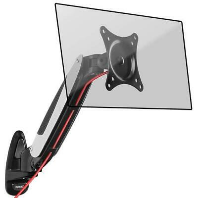 Duronic DM65W1X1 Gas Powered Single LCD LED Wall Mount Arm Monitor Bracket With  • 29.99£
