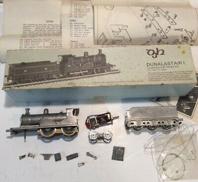OO Gauge DJH3 Kit DUNALASTAIR 1 Locomotive & Tender Kit 00 Gauge 4mm Scale • 57.66£