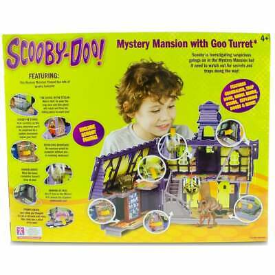Scooby Doo Mystery Mansion With Goo Turret, Includes Shaggy And Scooby Figures • 119.99£