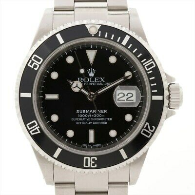 $ CDN11780.13 • Buy Rolex Submariner 16610 Stainless Steel AT Black Dial