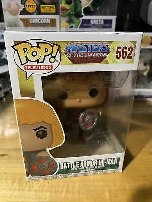 $6.50 • Buy 🔥 Funko Pop! Television #562 Masters Of The Universe Battle Armor He-Man Rare