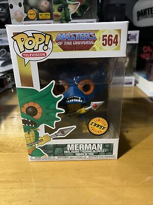 $32 • Buy 🔥 Masters Of The Universe Funko Pop Merman Chase Rare HTF Vaulted