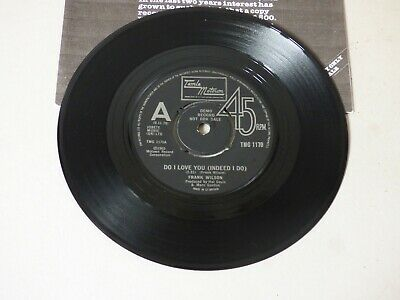 Northern Soul Detroit Motown Wigan Music Records Do I Love You Frank Wilson Demo • 230£