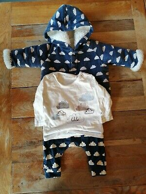 Next Baby Cloud Outfit Age Up To 3 Months 0-3 Months Boy Girl • 2.38£