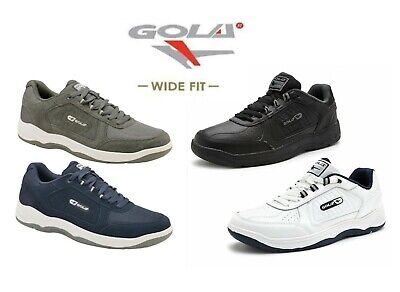 Gola Belmont Wide Fit EE Men's Lace-up Suede Or Leather Trainers Size 7-15 UK • 29.99£
