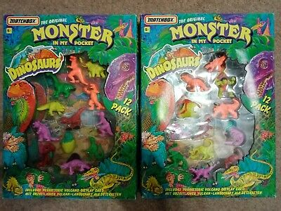 Monsters In My Pocket (Series 6) - Dinosaurs - 12 Pack X 2 - Complete Set Of 24 • 60£