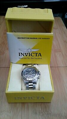 View Details Mens Invicta Chronograph Watch New In Box  • 40.00£