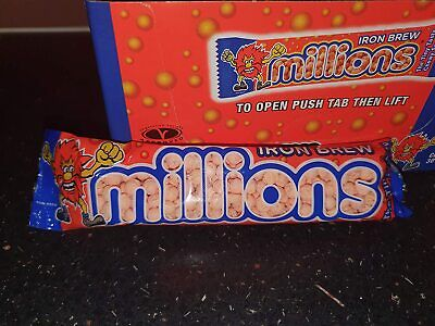 £4.49 • Buy 5X Iron Brew Millions Sweets Candy Irn Bru Rare Flavour - 5 Pack