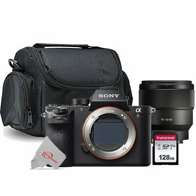 AU2465.36 • Buy Sony Alpha A7R II Mirrorless Digital Camera With Sony FE 85mm F/1.8 Lens Bundle