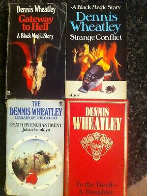Dennis Wheatley Devil A Daughter Gateway To Hell Occult Horror Pb Bundle X4 • 3.50£