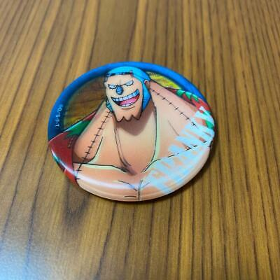 BANDAI ONE PIECE Franky 2in Pin Square Can Badge Button Badge Shonen Jump 27 • 47.74£
