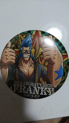 BANDAI ONE PIECE Franky 2in Pin Square Can Badge Button Badge Shonen Jump 58 • 47.74£