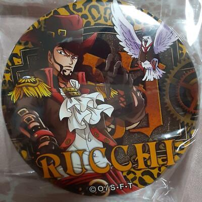 BANDAI ONE PIECE Dracule Mihawk 2in Toy Pin Square Can Badge Shonen Jump 11 • 47.74£