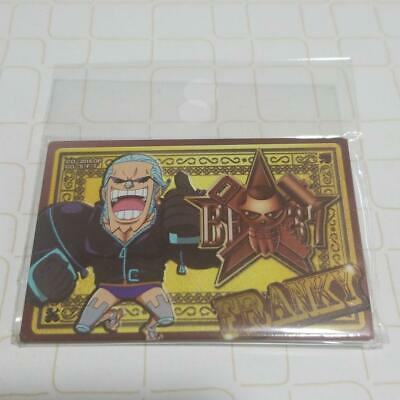 BANDAI ONE PIECE Franky 2in Pin Square Can Badge Button Badge Shonen Jump 46 • 47.74£