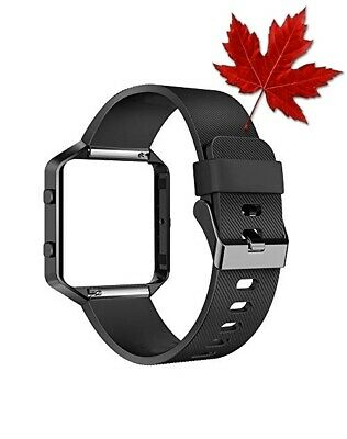 $ CDN20.91 • Buy AIUNIT For Fitbit Blaze Band With Frame, Replacement Silicone Sport Band Stra...