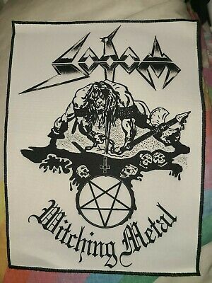 $ CDN78.19 • Buy Woven Patch Lot Back Patches Pins Guitar Picks Midnight Sodom Death Metal RARE