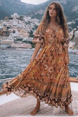 AU265 • Buy SPELL & THE GYPSY Collective Buttercup Gown BNWT Sz M