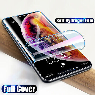 AU4.11 • Buy Hydrogel Film Screen Protector For IPhone 13 11 7 8+  6 6s SE X XR XS 12 Pro Max