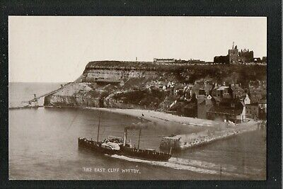 The East Cliff Whitby 1940's? J T Ross Postcard ~ Yorkshire • 2.30£