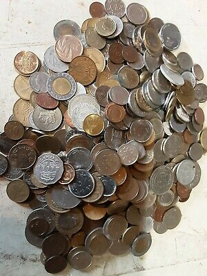 3KG Of Mixed World Coins, Foreign • 21£