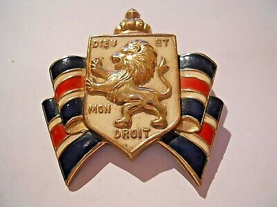 WW2 Home Front Badge British War Relief Society & Bundles For Britain Badge • 4.99£