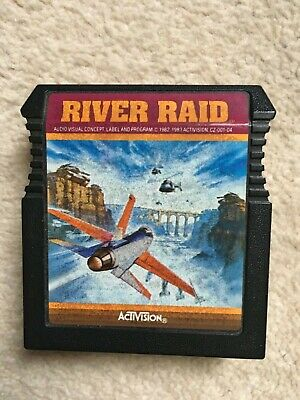 Atari 400 800 XL XE River Raid Cartridge By Activision. Tested & Working • 1.99£