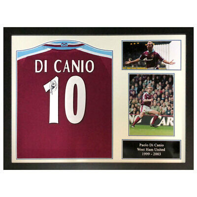 £303.97 • Buy Framed West Ham United Football Shirt Paolo Di Canio Signed