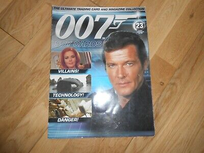 007 The James Bond Spy Cards Magazine Issue 23 (mag Only No Cards) • 0.99£
