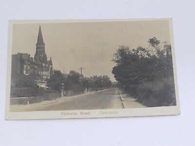 £2.99 • Buy Postcard  Victoria Road Thornton Cleveleys Real Photo Postcard RP Posted 1926