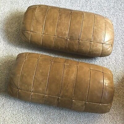 2 X  DE SEDE Leather Cushions For Sofa Or Chair Or Daybed  • 399.99£