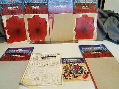 $48.99 • Buy Masters Of The Universe Mini Comic, Back Cards And More
