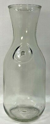 $20.66 • Buy Paul Masson Since 1852 Old Glass Milk Bottle / Carafe Decanter / 9-3/4  Tall