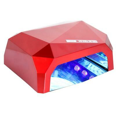 36W LED CCFL Nail Dryer Shape Curing Lamp Machine For UV Gel Nail  • 19.22£