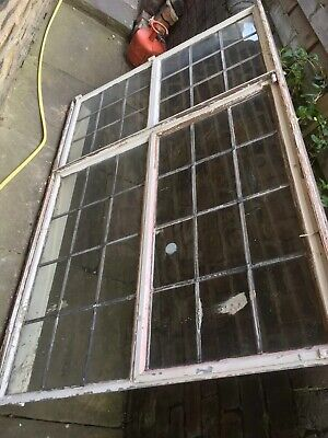 "Architectural Antiques- Original Art Deco Double Crittall Window-45 1/2"" X69 1/4 • 149.99£"