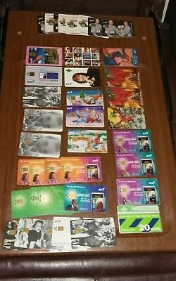 ((*31*))bundle 1990s Various Rare Collectables Bt Phone Cards  • 9£