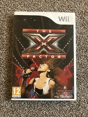Nintendo Wii Game - The X Factor - Hardly Used • 6.99£
