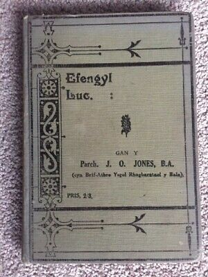 Vintage Welsh Language Book - Efengyl Luc - Wales Collectable Ephemera Books • 5.75£