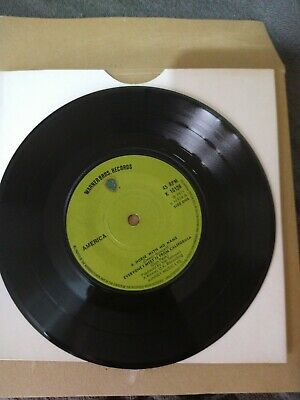 America 45 A Horse With No Name Classic Rock Vinyl 7 Inch Record • 0.99£
